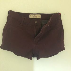 SAME PRICE ✅🥳High Rise Burgundy Short ❣️